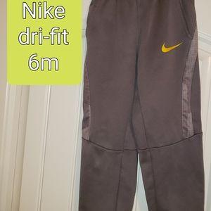 Nike's dri fit